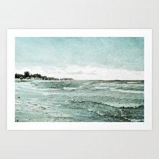 stormy day Art Print