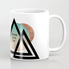 explosions in the sky Coffee Mug