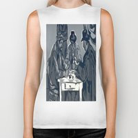 poker Biker Tanks featuring Poker Game by Kasey Jane