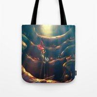 world Tote Bags featuring Someday by Alice X. Zhang