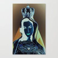 madonna Canvas Prints featuring madonna by Mike Fernandez