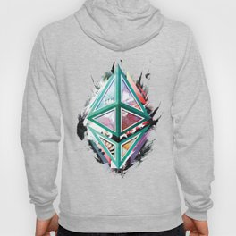 Ethereum Logo Abstract 01 Hoody