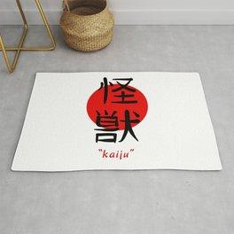 Kaiju - Japanese Aesthetic Kanji Art Gift Rug