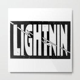 Lightnin Metal Print
