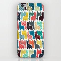 baby llamas iPhone Skin