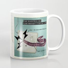 The Electric Eel Plug-Socket Fishing Lure Coffee Mug