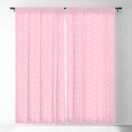 Pangnupark Hippo Bear Pink Blackout Curtain