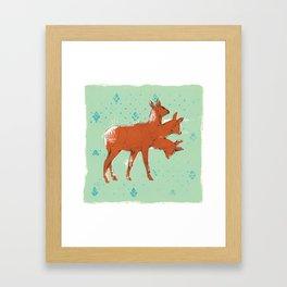 Trideer Framed Art Print