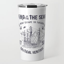 King of the seas Travel Mug