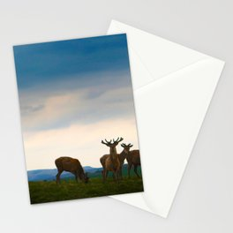 Deer On The Highland Stationery Cards