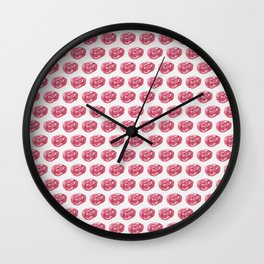 Little roses Wall Clock