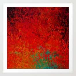 Figuratively Speaking, Abstract Art Art Print