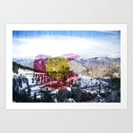 Coloraaaaado Art Print