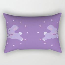 Baby Bunny Girl Rectangular Pillow