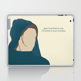 Workhouse Fantine - Anne Hathaway - 'Give That Letter to Me' - Les Miserables Laptop & iPad Skin