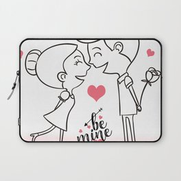 Valentines Day Special Love Couple Laptop Sleeve