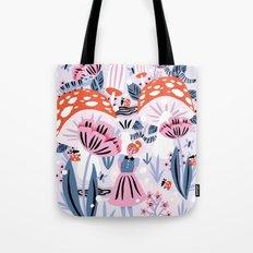 Alice in Winterland Tote Bag