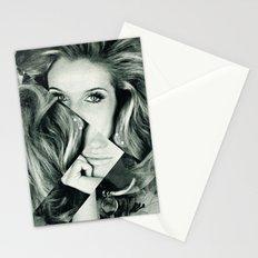 Frau Dreiecke 1 Stationery Cards