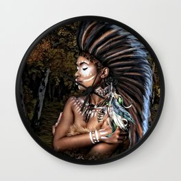 IN THE SPIRIT LAND WE ALL COME FROM 002 Wall Clock