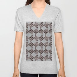 Between X and diamonds, small size #559 Unisex V-Neck