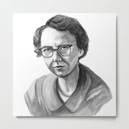 Flannery O'Connor Metal Print