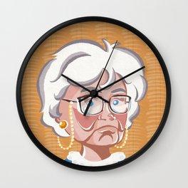 Golden Girls - Sophia Petrillo Wall Clock