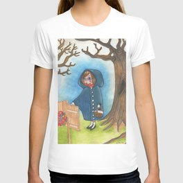 The little blue ridding hood T-shirt