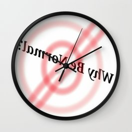 Why Be Normal?? Wall Clock