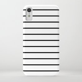 Minimalist Stripes iPhone Case