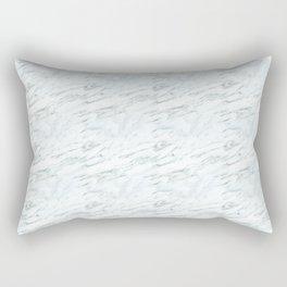 Classic Carrera Marble Rectangular Pillow