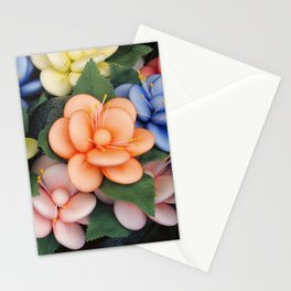 Sugared almonds as petals Stationery Cards