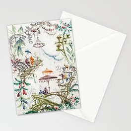 Enchanted Forest Chinoiserie Stationery Cards