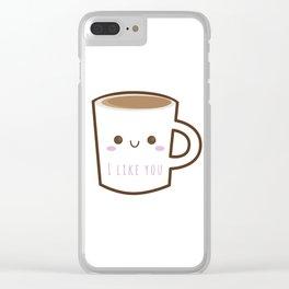 Starbucks Addiction Clear iPhone Case