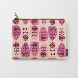 Floral teardrops Carry-All Pouch