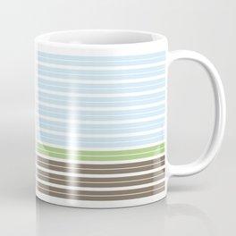 Modern Abstract Landscape Coffee Mug