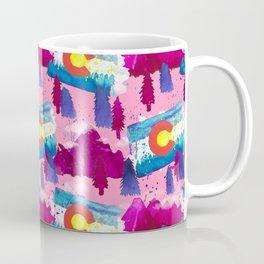 WaterColorado Pink Coffee Mug