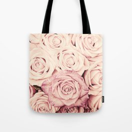 Some people grumble I Floral rose roses flowers pink Tote Bag