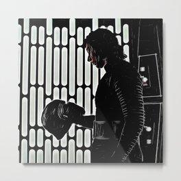 Kylo's Dark Side Metal Print