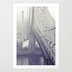 59th street bridge... Art Print