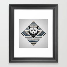 Indian Panda Framed Art Print