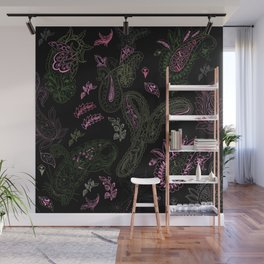 Pink Roses in Anzures 1 Paisley 1 Wall Mural