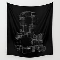 ampersand Wall Tapestries featuring AMPersand by Jorge Garza