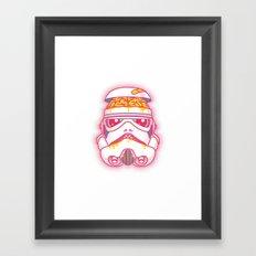 A Bad Feeling Framed Art Print