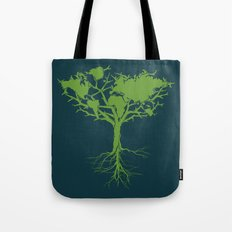 Earth Tree Tote Bag