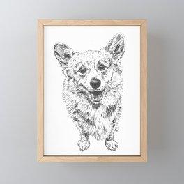 Corgi Bogorgi Framed Mini Art Print