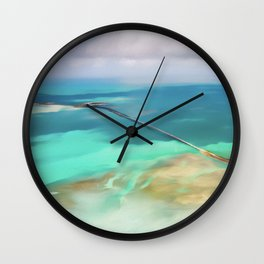 Overseas Scenic Florida Keys Wall Clock