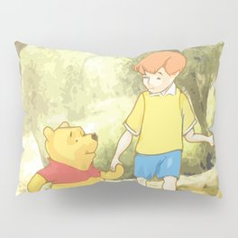 Christopher and Pooh Bear Pillow Sham