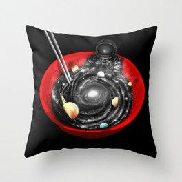 Cosmic Ramen Throw Pillow