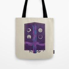 'Neath the Tower of Incomprehensible Sorcery Tote Bag