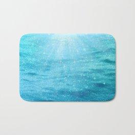 Sparkly Sea Sun Sparkles Bath Mat